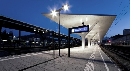 Baudokumentation HBF Salzburg